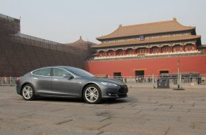 Tesla in chinese market