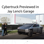 Cybertruck previewed in Jay Leno's Garage