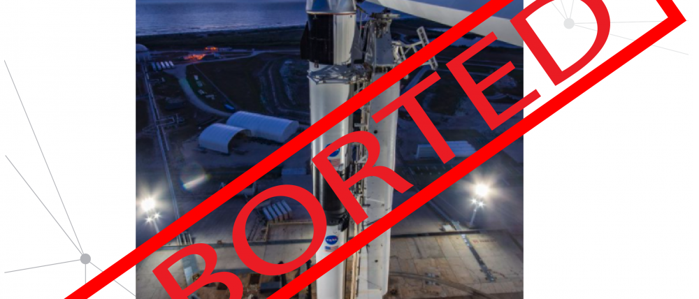 SpaxeX mission Aborted