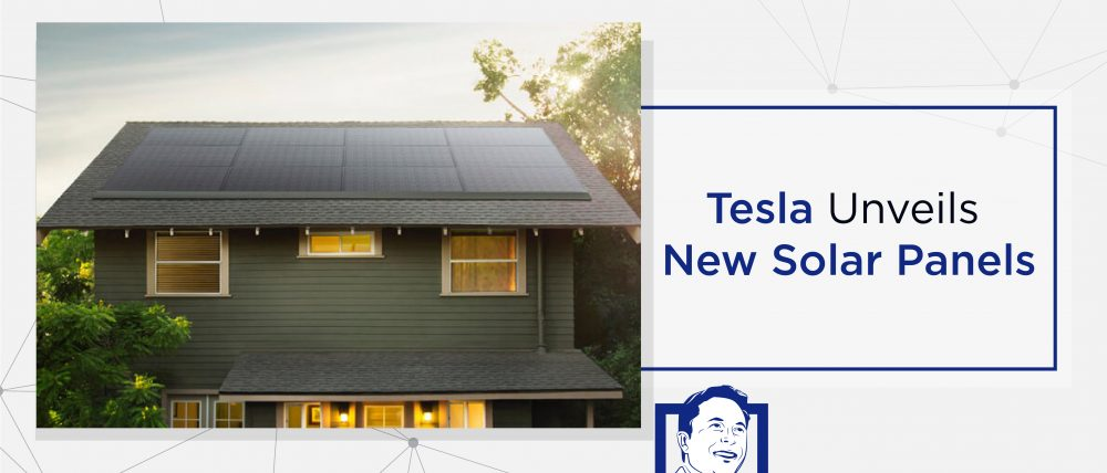 Tesla Unveils New Solar Panels